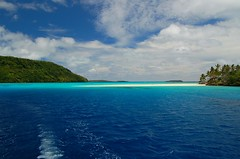 Nuku Island in the blues photo by msdstefan