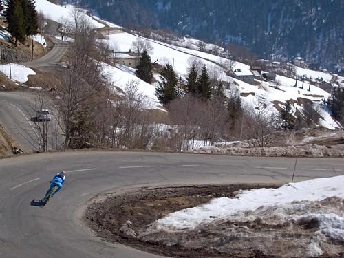 Eric Decsending Col des Aravis
