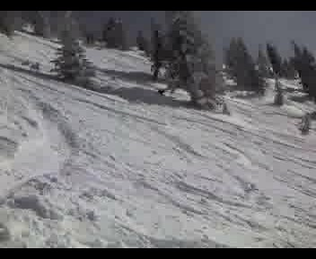 Targhee - Skiing the nipple