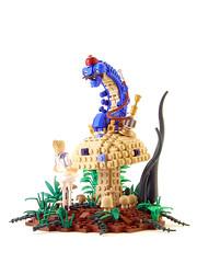 Alice in Legoland photo by Legohaulic