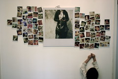 Polaroid Wall photo by Patrick Ng
