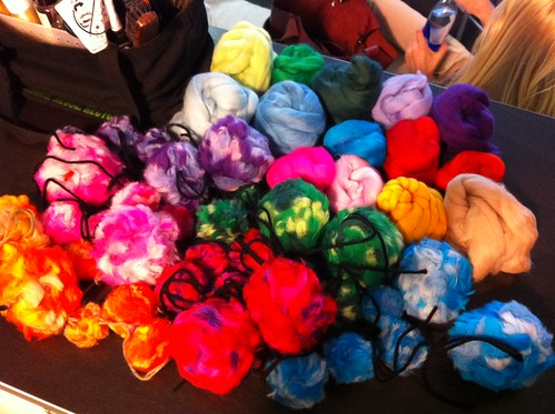 Look at all these puffs for the shoot today!