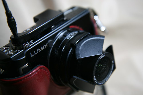 LX3 with camera release