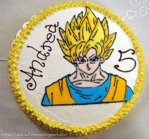 Torta Goku Super Sayan