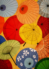 Japanese Parasol Umbrella Patterns photo by shaire productions
