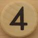 Sudoku Black Number 4