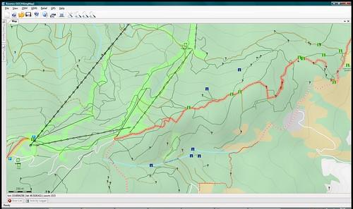 Kosmos: Pohorje Hiking Map, detail