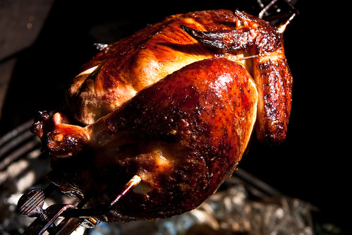 Brined & Smoked Rotisserie Chicken
