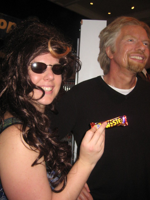 Richard Branson and Toby Tully