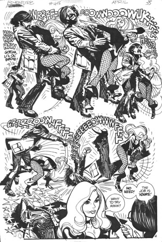 Black Canary Adventure 418 by Alex Toth