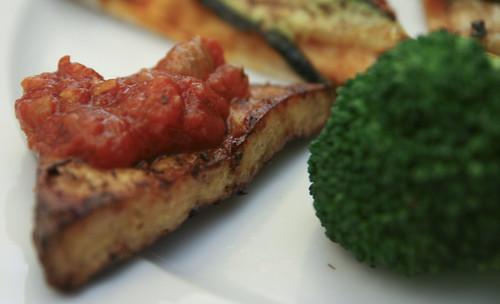 Italian Grilled Tofu