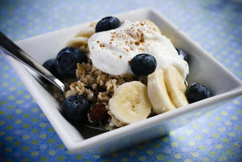 Blue Bircher Muesli