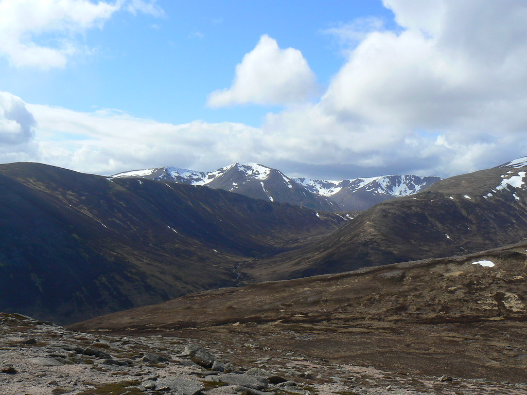 Cairn Toul, Braeriach and Carn a' Mhaim