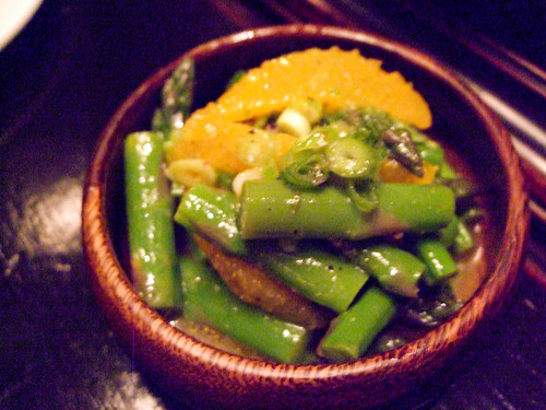 Asparagus with Orange, Locanda Verde