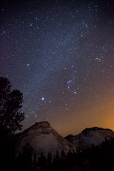 Orion over Zion photo by Jeffrey Sullivan