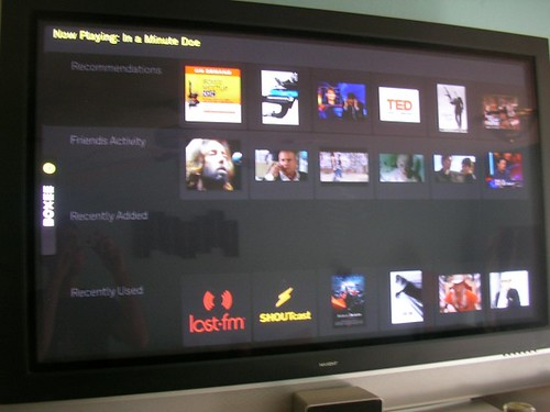 Boxee's Front-End
