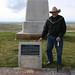 Joe Medicine Crow at the Little Bighorn Memorial