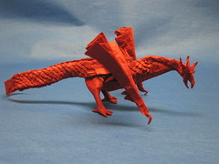 Scaled Wyvern photo by blue paper