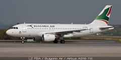 LZ-FBA / Bulgaria Air / Airbus A319-112
