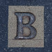 City Carpet Letter B