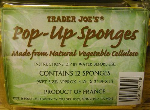 Pop Up Sponges