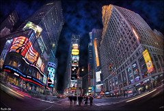 Times Square photo by Oliver Fluck