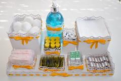Kit  para ser usado em lavabos de eventos photo by Bebek Studio