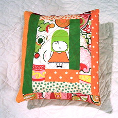 Quilted Pillow photo by Sewing Geek