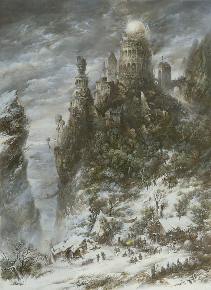 """The Castle"" photo by Yaroslav Gerzhedovich"