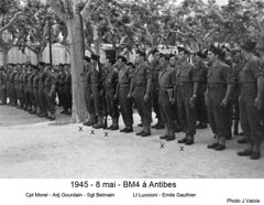 BM 4 Chambarand - 1945 8 Mai_Antibes  - Col. Emile Gauthier
