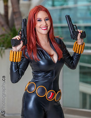 Black widow by Meg Turney at Comic-Con SDCC 2013 photo by andreas_schneider