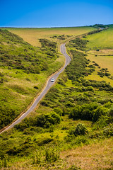 Winding Road in Rural Devon photo by Hughie O'Connor