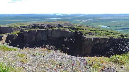2013-0725 1143 Kiruna  vanaf Luossavaara