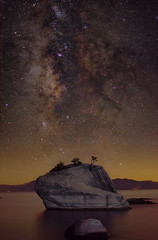 The Milky Way Over Bonsai Rock photo by D.H. Parks