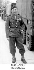 BM 4 Chambarand - 1945 Avril_Sgt_Lafaye - Col. Emile Gauthier