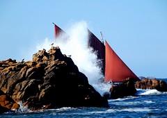 La vague est arrivée ...... photo by jackline22 .