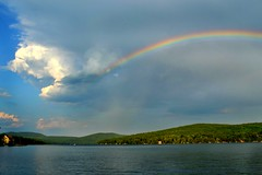 Rainbow Over the Lake photo by NikonGirl1969