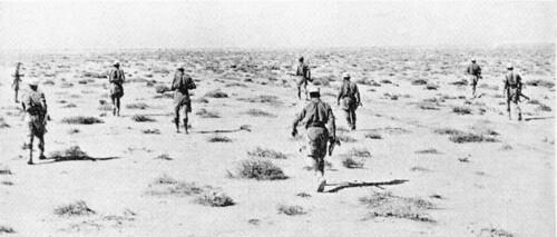Légionnaires en patrouille
