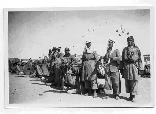 1941- Syrie- Bédouins - coll. Paul Chanoine (Train)