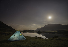 'Moon-Rise View Over Cregennan' photo by Kristofer Williams