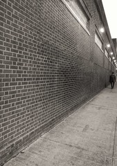 Man Walking Near A Wall (New York, USA. Gustavo Thomas © 2014) photo by Gustavo Thomas