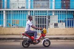 City of Red Bikes, Lagos Nigeria | Explored photo by Devesh Uba