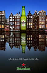 Heineken Long Neck Bottle Ad 2 photo by Noel Bass