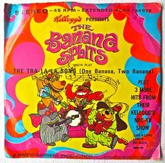 "The Banana Splits 1969 ""The Tra-La-La Song"" 7 inch vintage vinyl record 1960s A photo by Christian Montone"