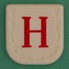 Line Word red letter H