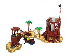 MocAthalon 2014 Entry: A Pirate's Haven photo by IronBricks