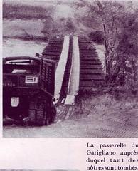 Génie- 1944 - Italie- Passerelle du garigliano