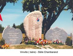 Viriville Stele chambarand - Fonds E. Gauthier