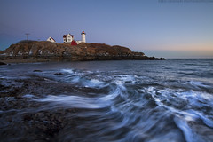 Evening Surf at Nubble photo by Eric Gendron Photography