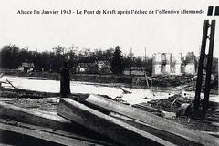 Alsace- 1945 - Pont de krafft